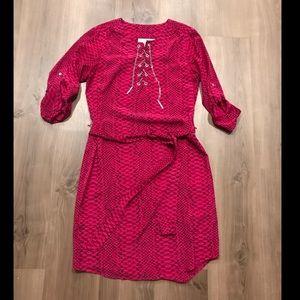 Michael Kors Pink Snakeskin Dress